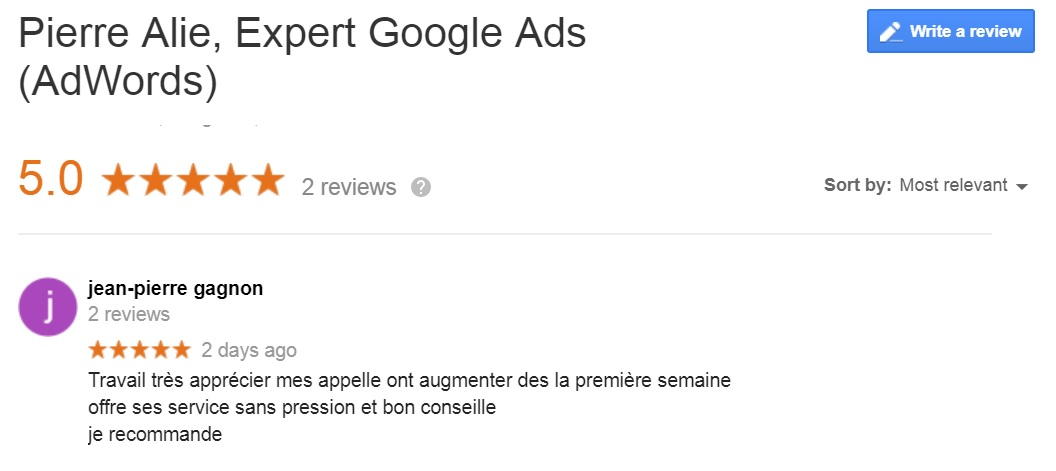 Témoignage de Jean-Pierre Gagnon